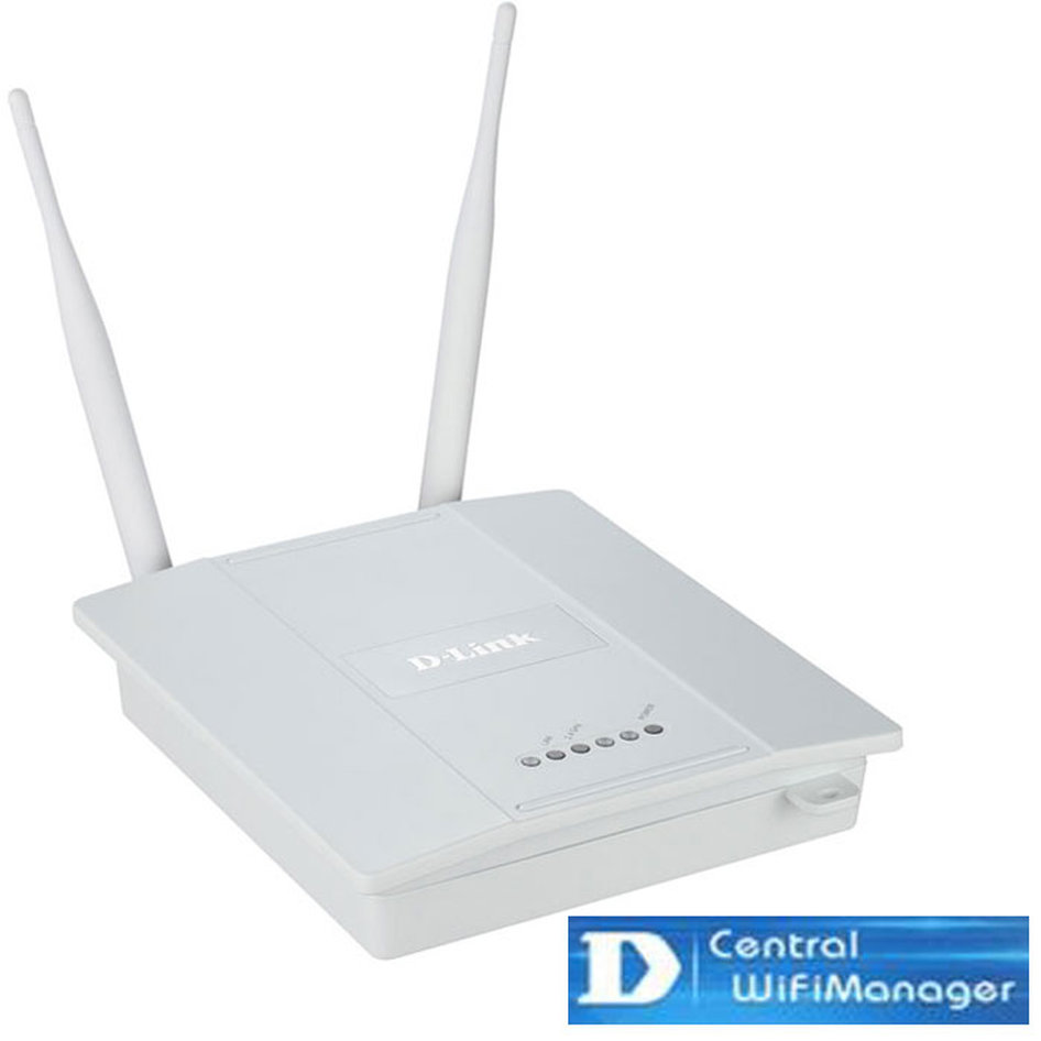 Wireless N300 Access Point PoE εσωτερικού χώρου, στα 2,4 GHz με Central Wifi Manager