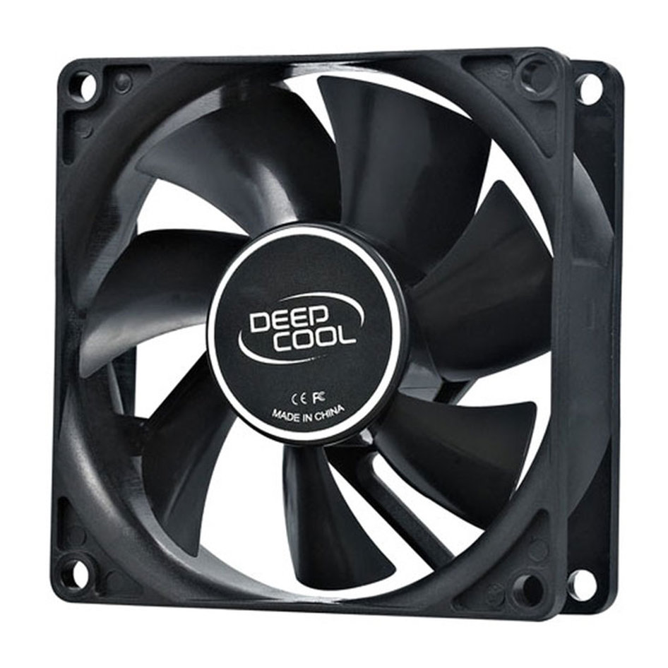 DEEPCOOL XFAN 80 COOLING FAN 80mm BLACK
