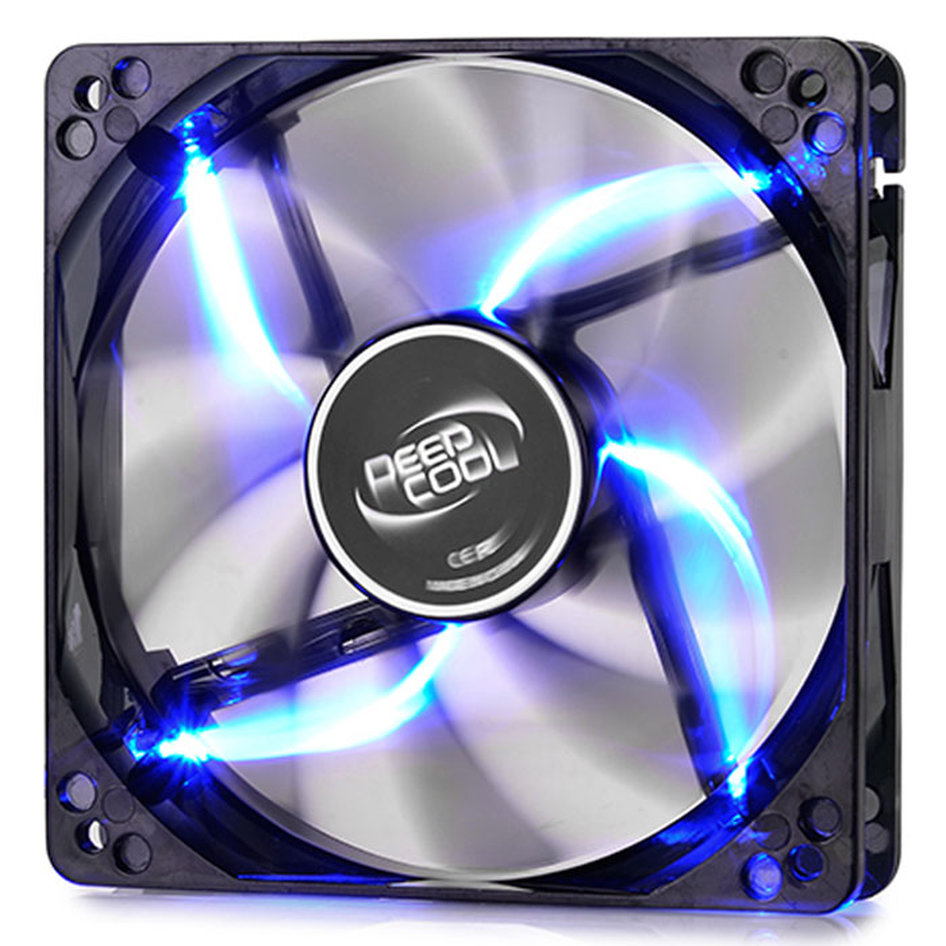 DEEPCOOL WINDBLADE 120 BLUE COOLING FAN 120mm  LED