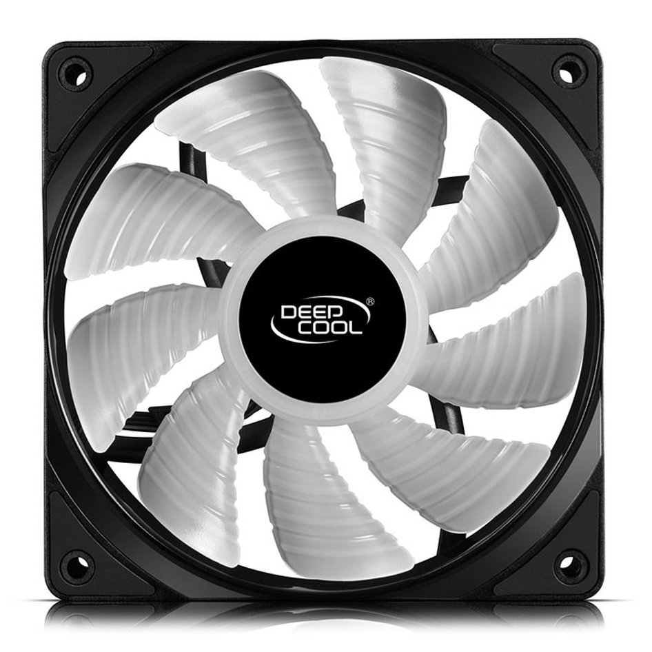 DEEPCOOL RF 120 3 IN 1 RGB COOLING FAN 120mm BLACK