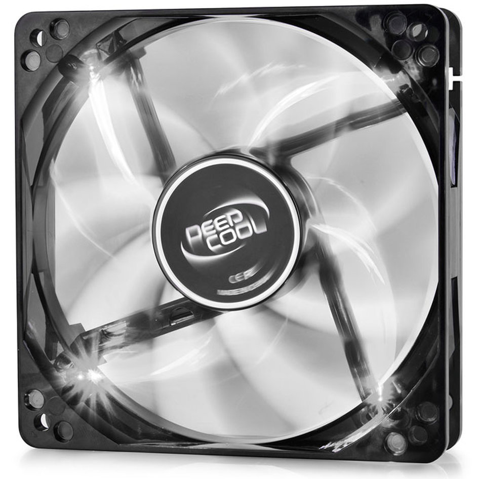 DEEPCOOL WINDBLADE 120 WHITE COOLING FAN 120mm WHITE LED