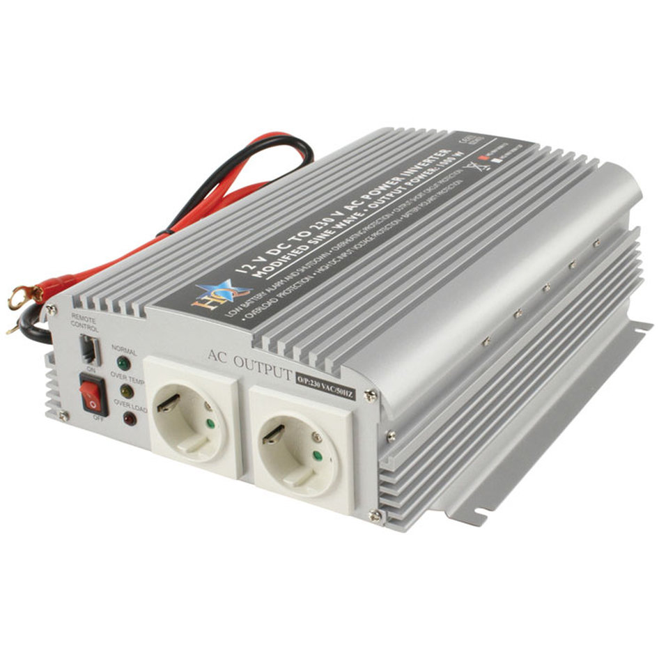 Inverter 1000W 12VDC to 230VAC