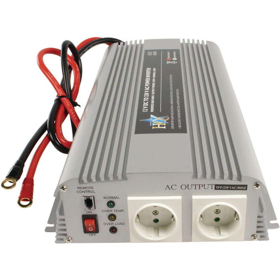 Inverter 1700W 12VDC to 230VAC