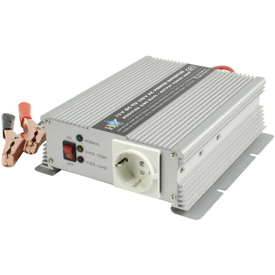Inverter 600W 12VDC to 230VAC