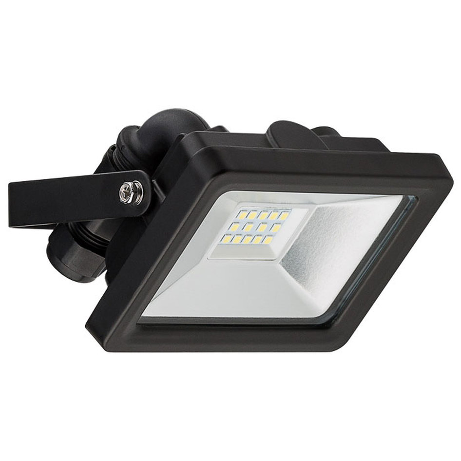 59001 LED OUTDOOR FLOODLIGHT BLACK 10W 830lm