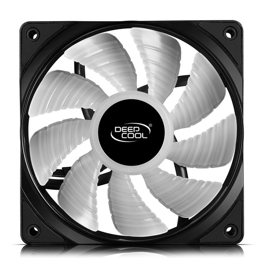 DEEPCOOL RF 120 RGB COOLING FAN 120mm BLACK