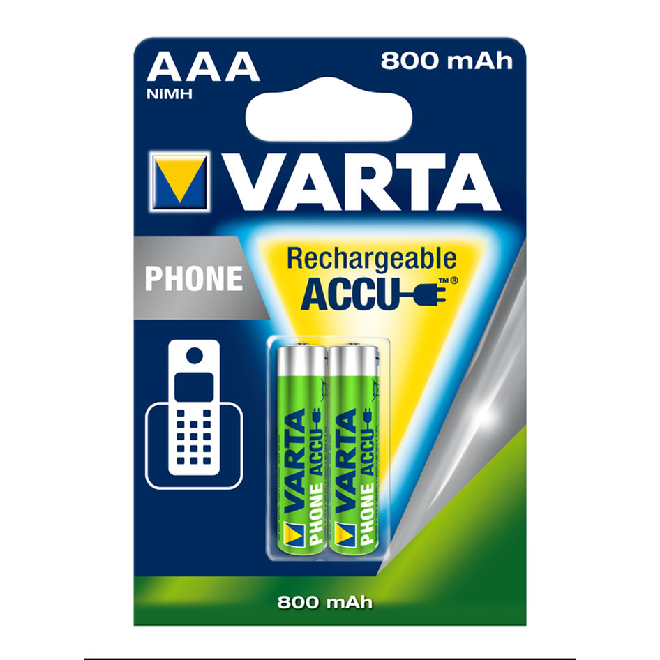 Varta Rechargable Battery AAA 800mAh