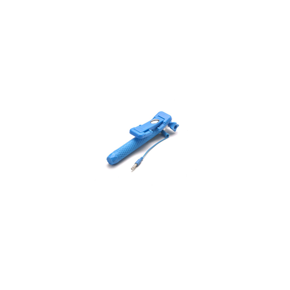 Celly Selfie Stick wired Light Blue