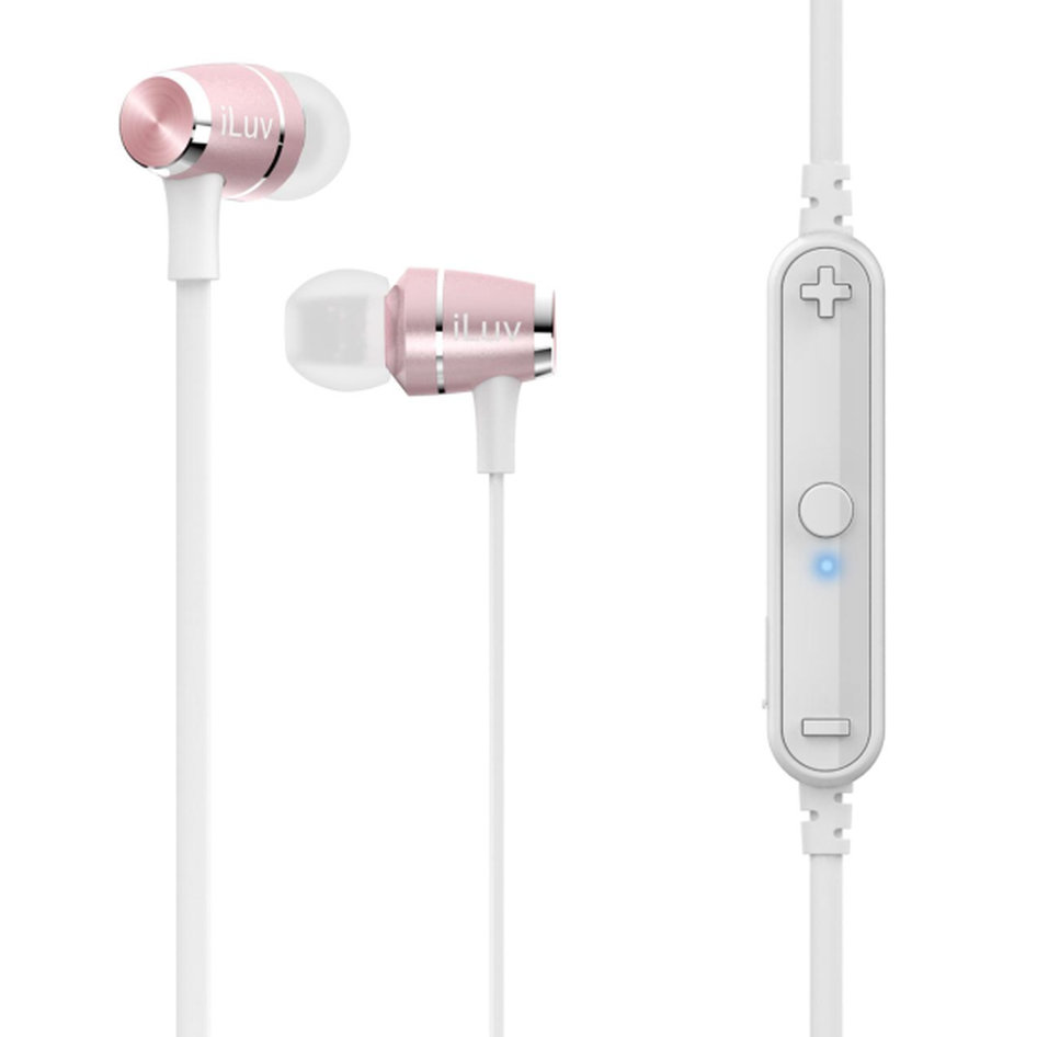 iLuv Bluetooth Handsfree Metal Force Air V2 Rose Gold