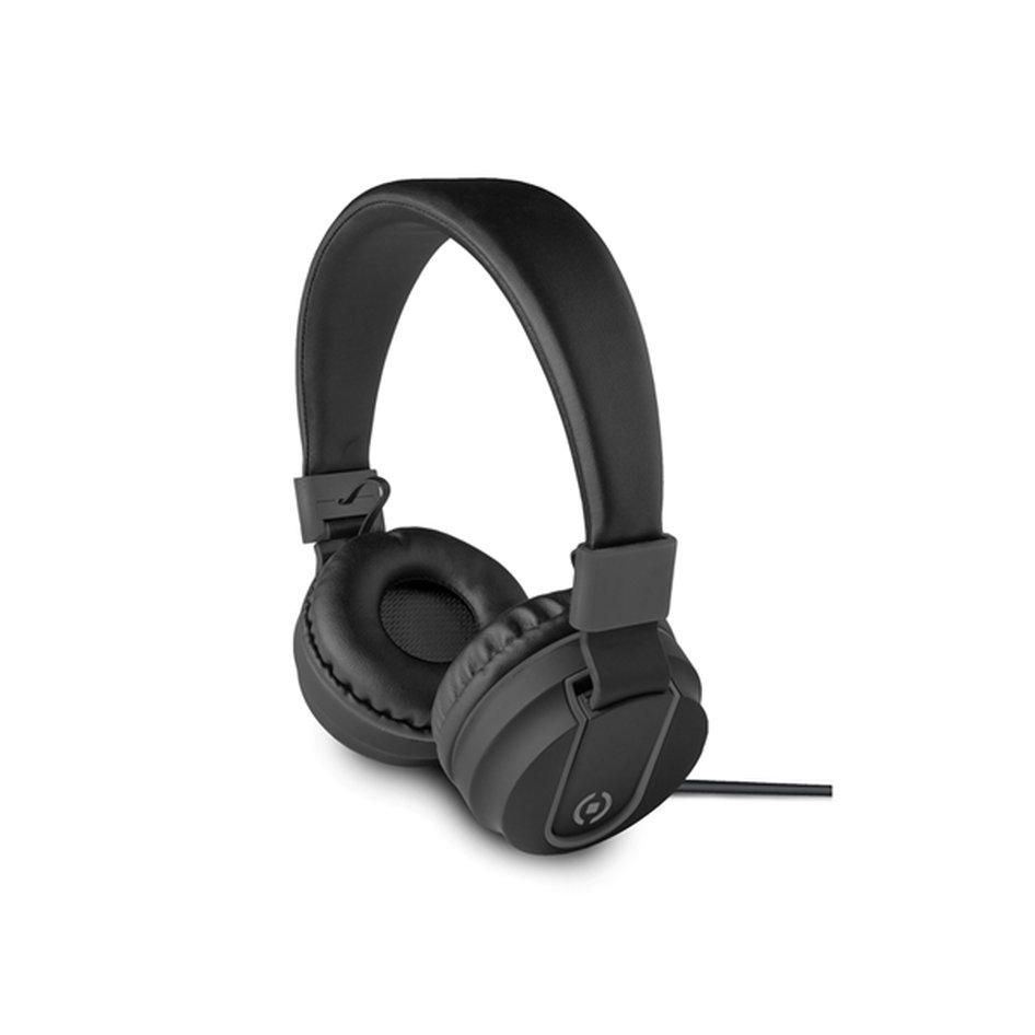Celly Color Stereo Headphone Black