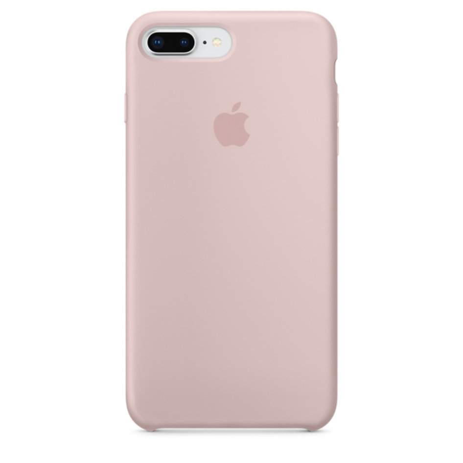 Apple Silicone Case iPhone 8-7Plus Pink Sand