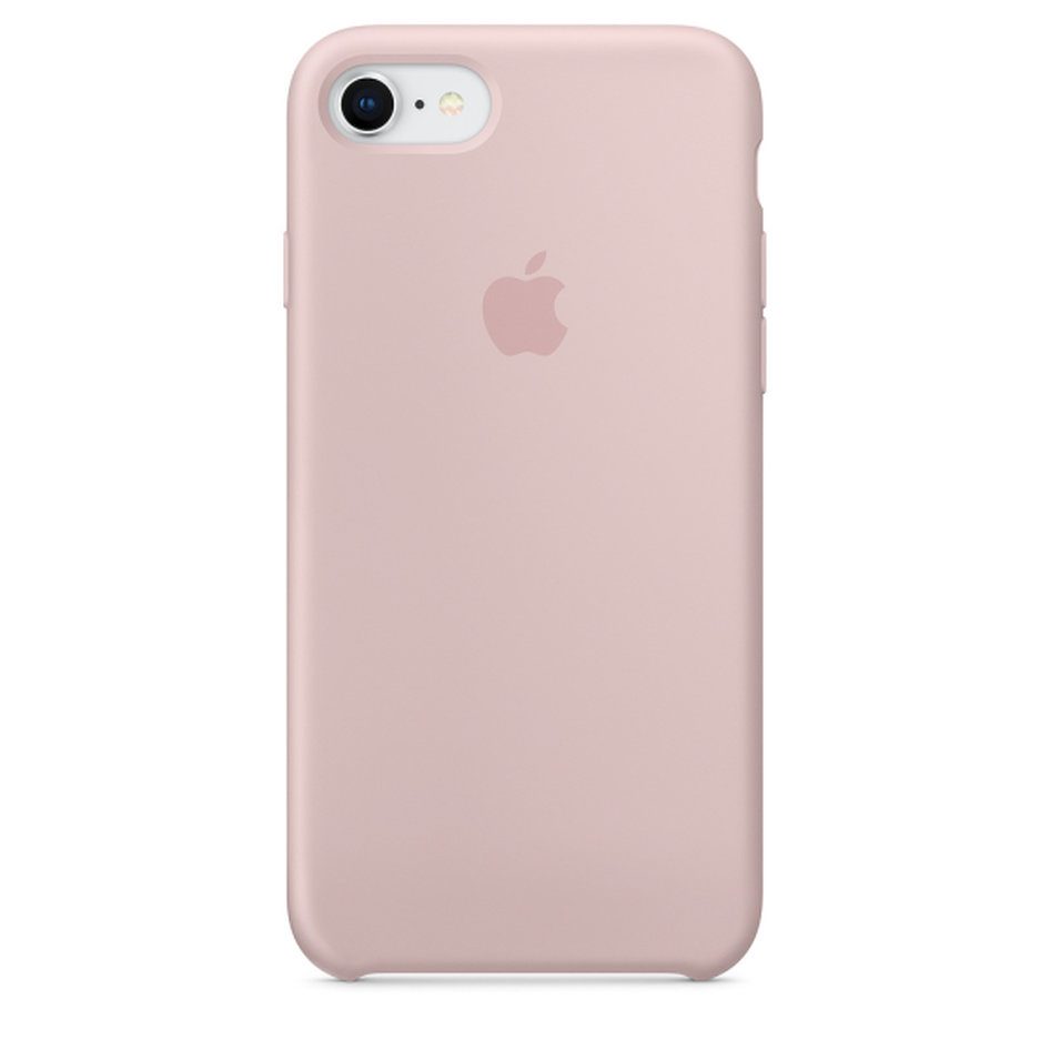 Apple Silicone Case iPhone 8-7 Pink Sand