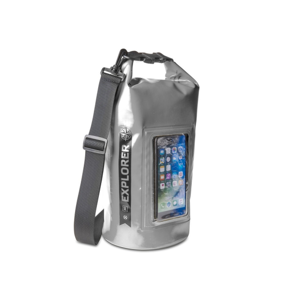 Celly Explorer Drybag 5L Up To 6.2 Grey