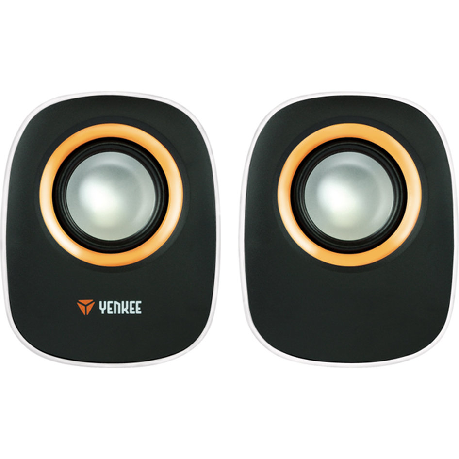 Yenkee Stereo Speakers (3.5mm) 2 X 3W White YSP 2001WH
