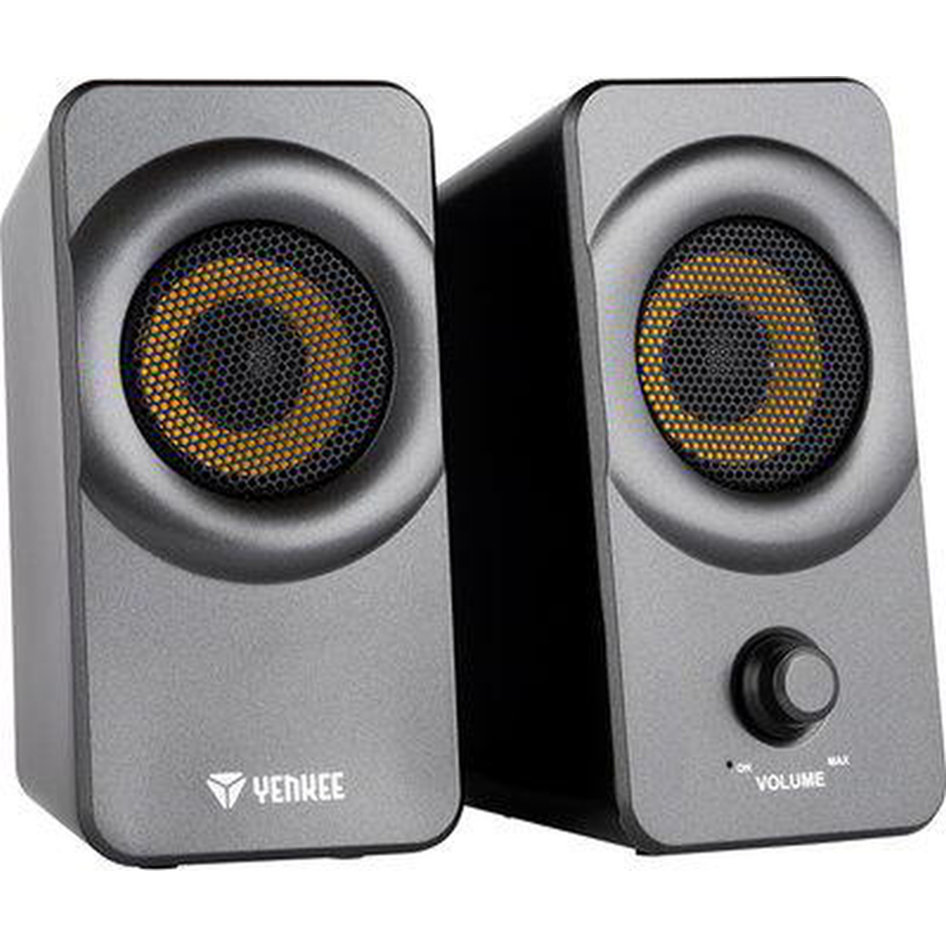 Yenkee Desktop Speakers (3.5mm) 5W Black YSP 2020