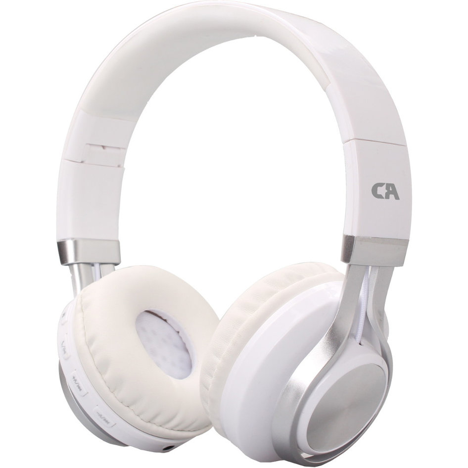 CRYSTAL OE-02-WH WHITE ON-EAR HEADPHONES