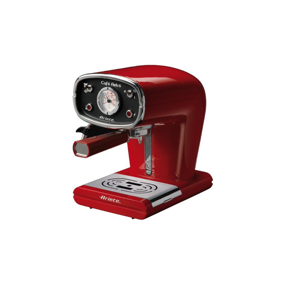 ARIETE 1388 RED COFFEE MAKER ESPRESSO RETRO