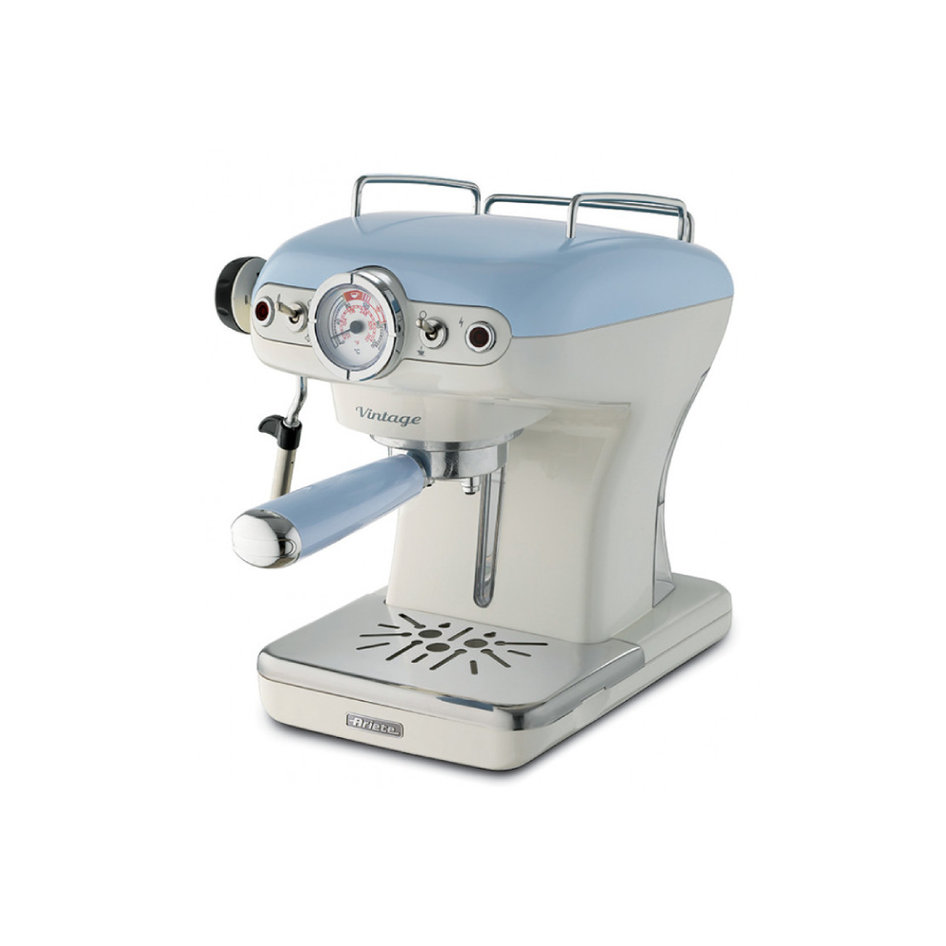 ARIETE 1389/15 LIGHT BLUE ESPRESSO MACHINE VINTAGE
