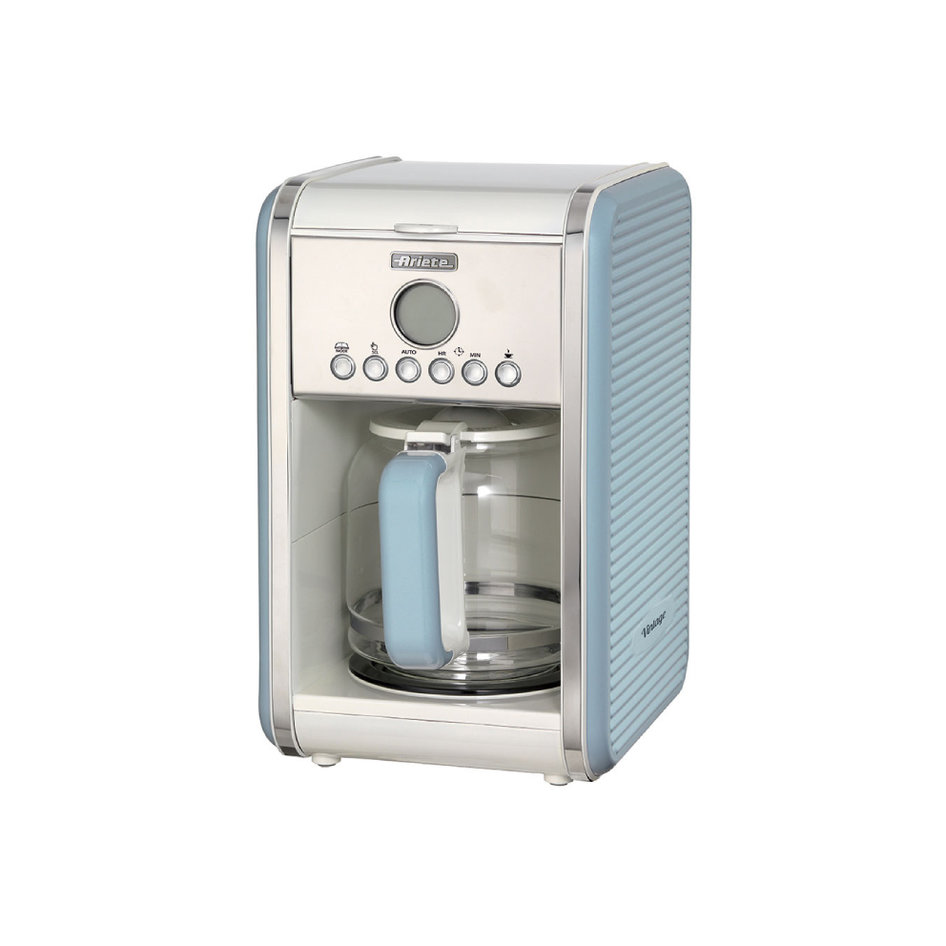 ARIETE 1342/05 COFFEE MAKER LIGHT BLUE VINTAGE