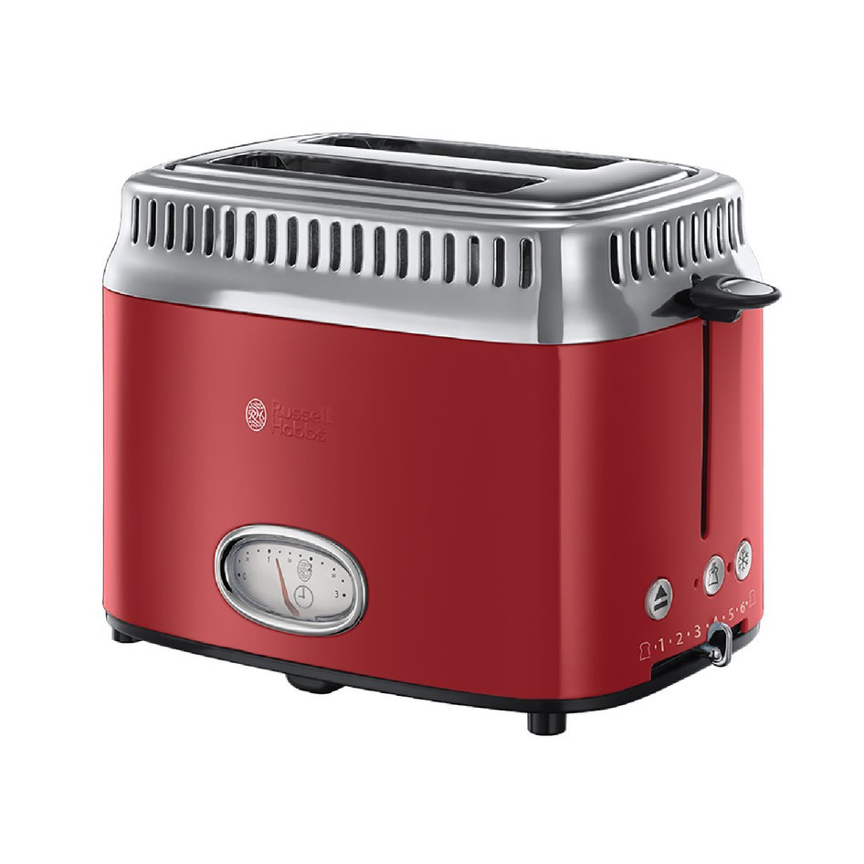 RH 21680-56 Retro Ribbon Red Toaster