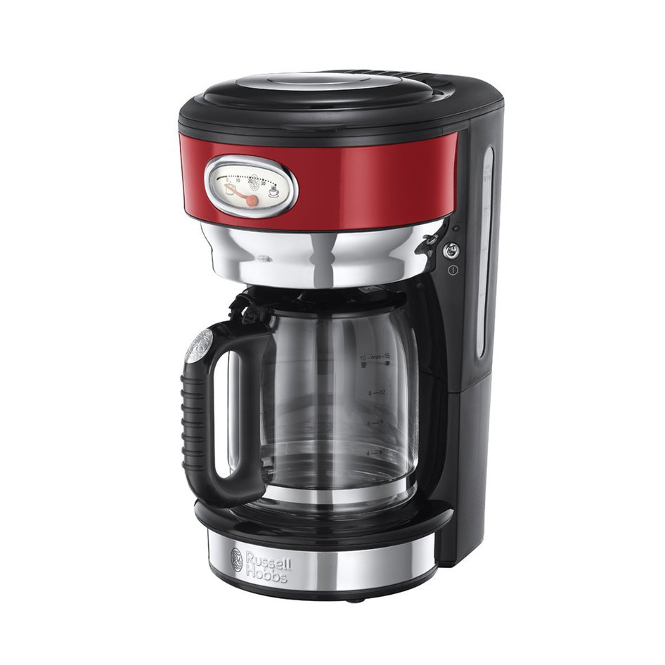 RH 21700-56 Retro Ribbon Red Coffee Maker
