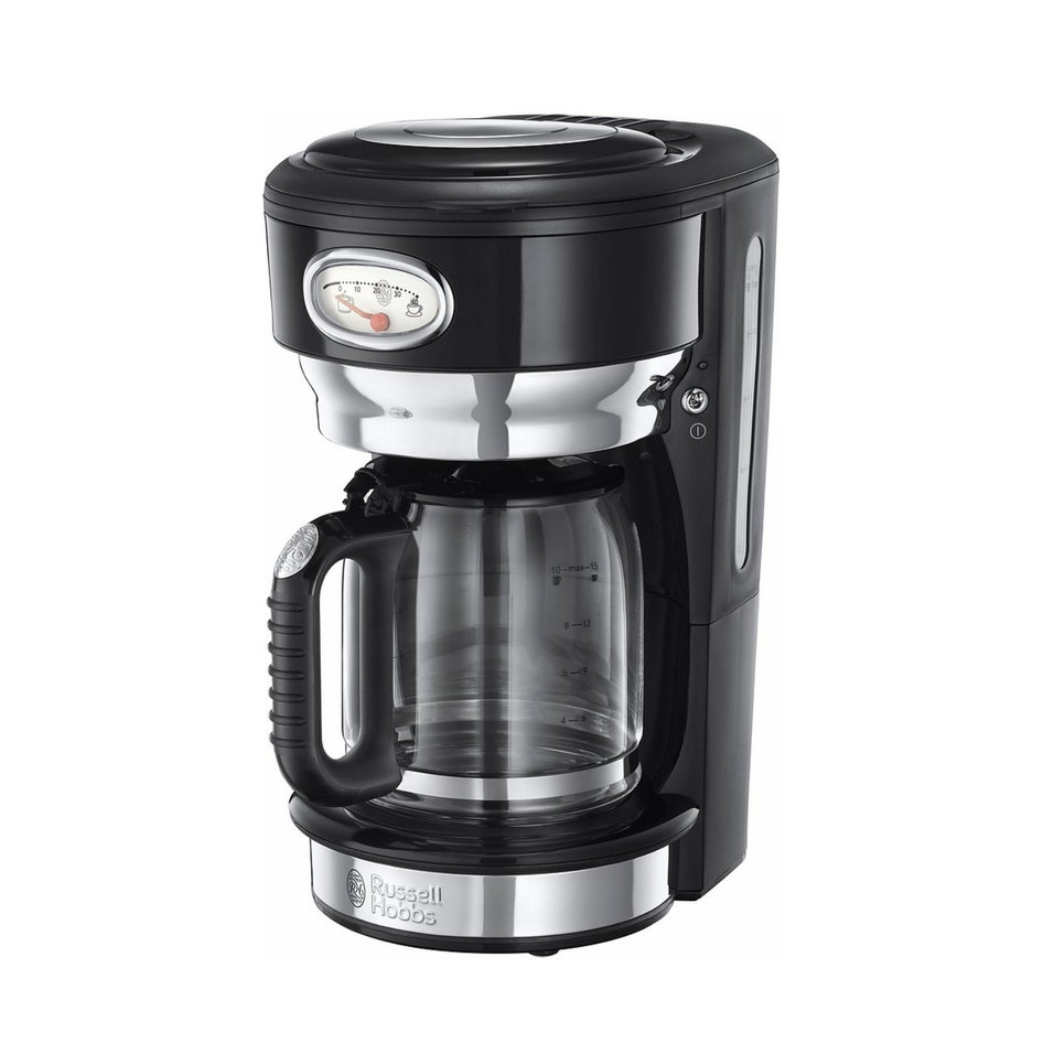 RH 21701-56 Retro Classic Noir Coffee Maker