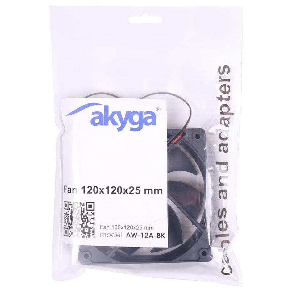 AKYGA AW-12A-BK FAN 120MM BLACK