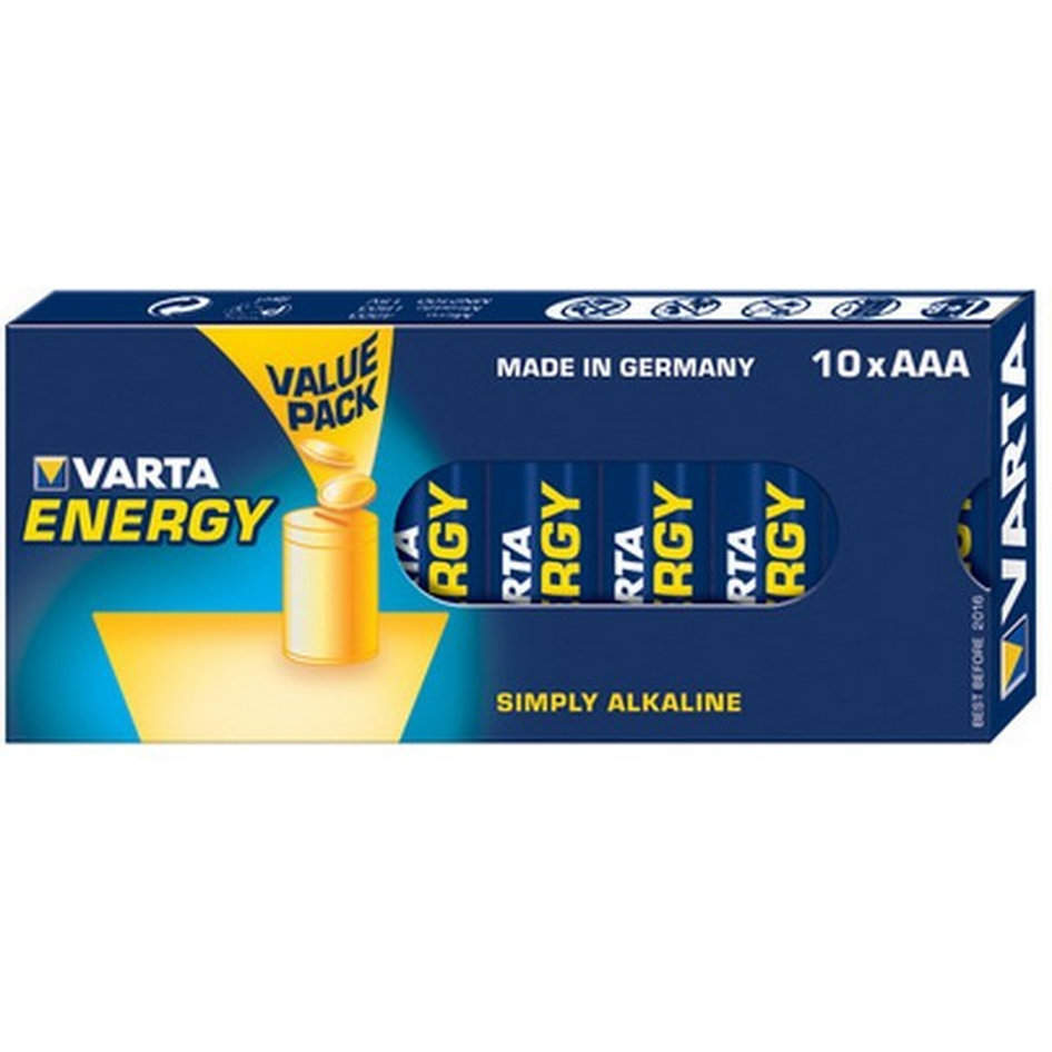 VARTA 4103 Συσκ.10 229410 ENERGY AAA, VALUE PACK