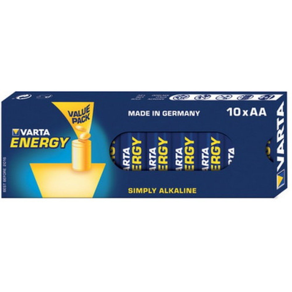 VARTA 4106 Συσκ.10 229410 ENERGY AA, VALUE PACK