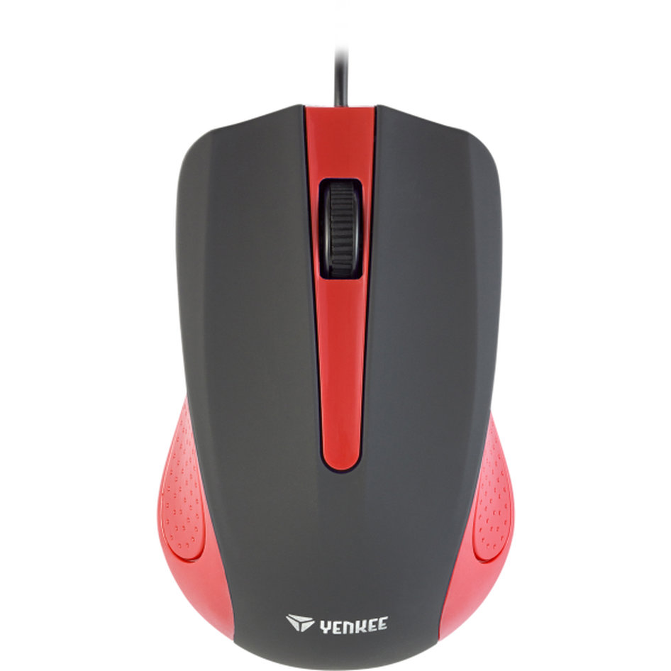 Yenkee Optical Mouse 1015 Κόκκινο YMS 1015RD
