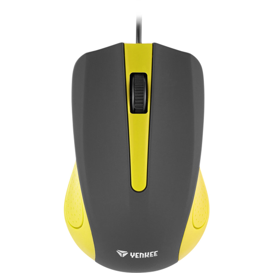 Yenkee Optical Mouse 1015 Κίτρινο YMS 1015YW