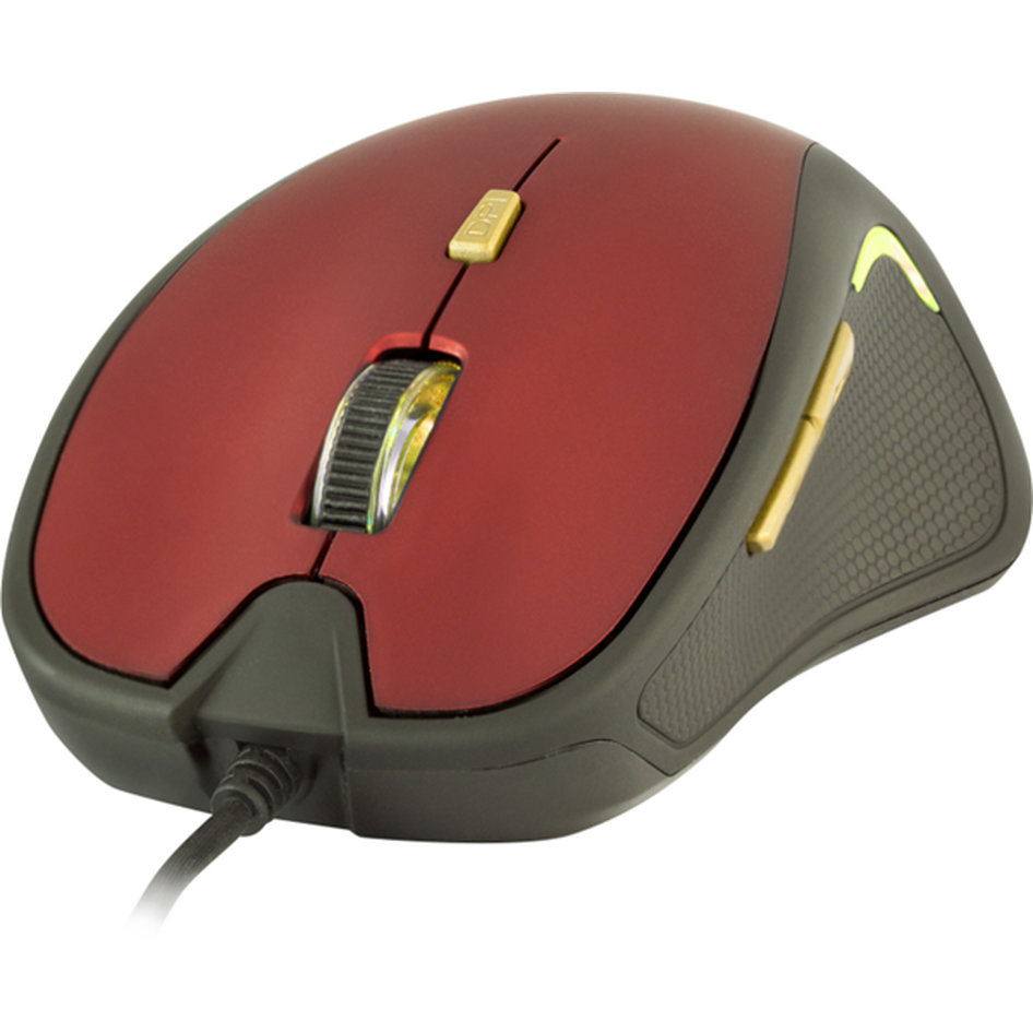 Yenkee Optical Mouse Dakar Κόκκινο YMS 1010RD