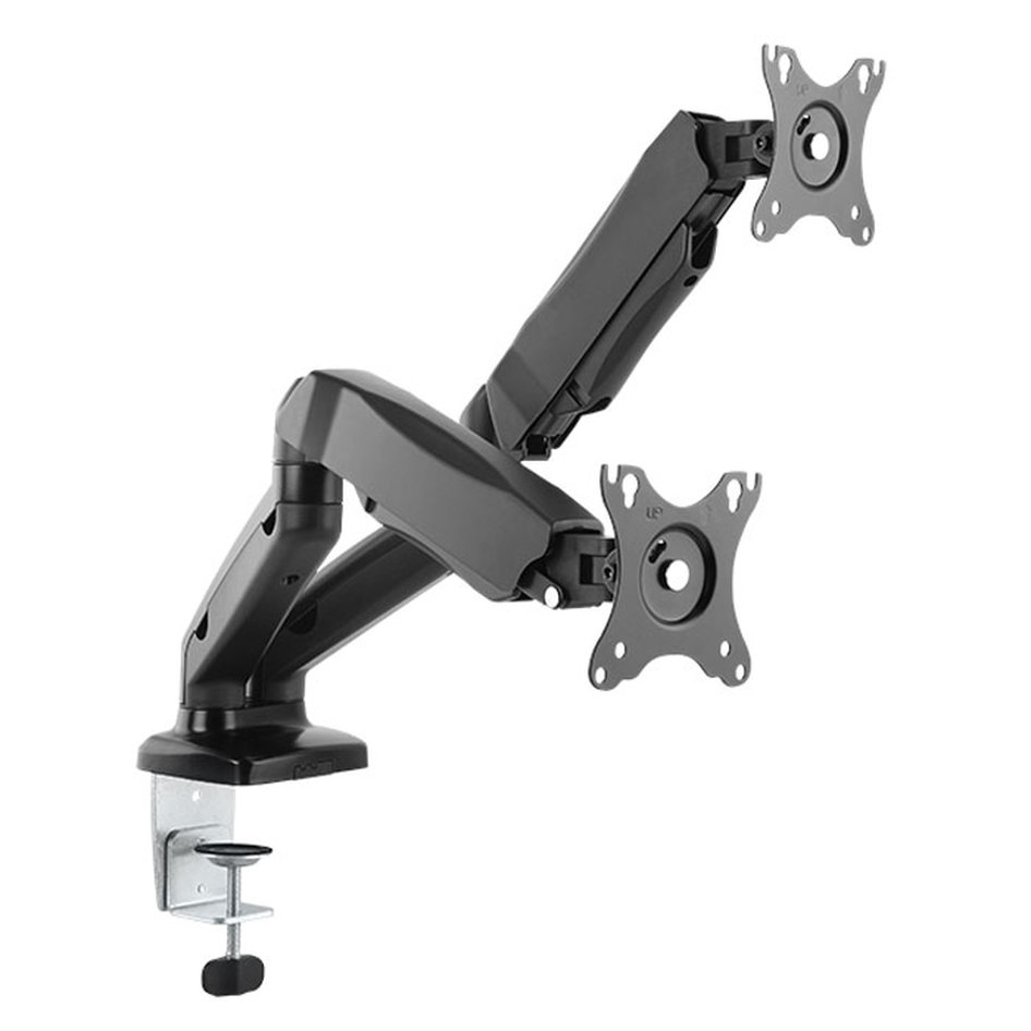 ICY BOX IB-MS304-T Monitor stand with table support for two monitors up to 27