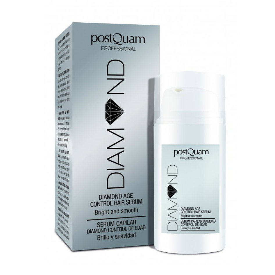 Ορός Μαλλιών για Όγκο PostQuam Diamond Age Control Hair Serum 30 ml