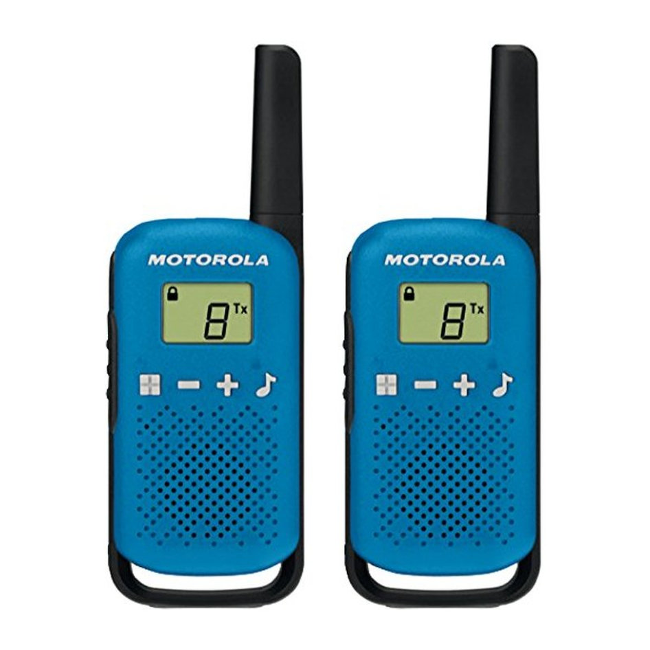 MOTOROLA TALKABOUT T42 WALKIE TALKIE 4KM ΜΠΛΕ