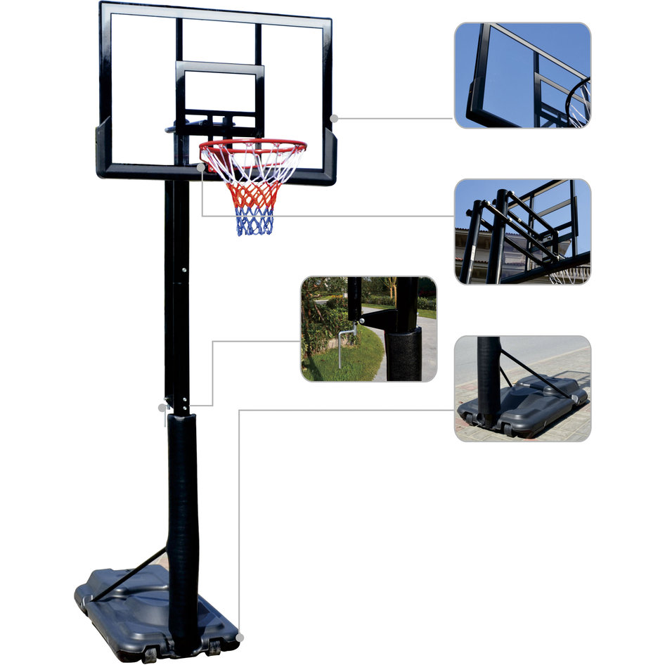 Deluxe Basketball System