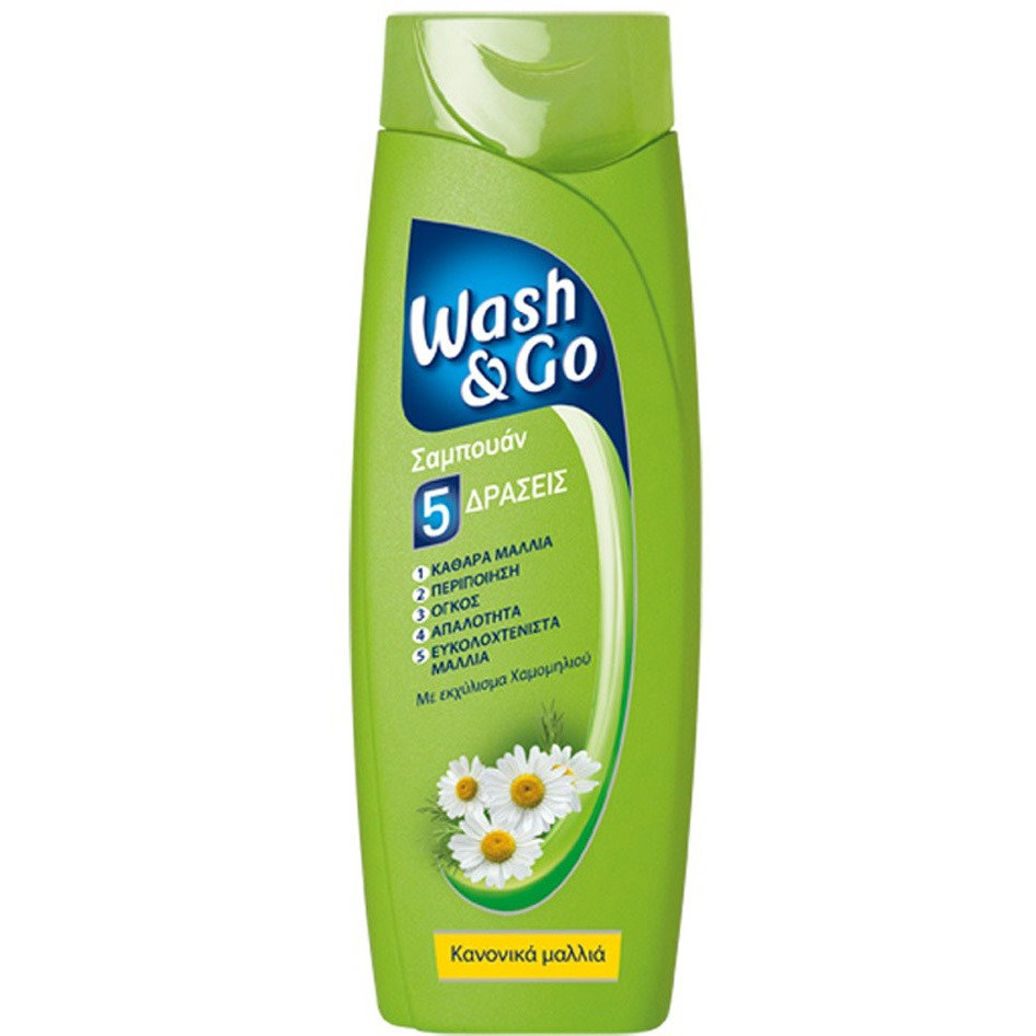 WASH&GO SHAMPOO NORMAL 200ML