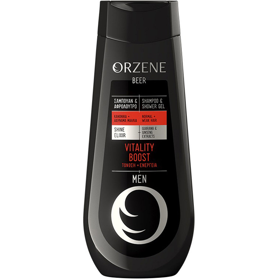ORZENE SHAMPOO & SHOWER GEL MEN VITALITY 400ML R17
