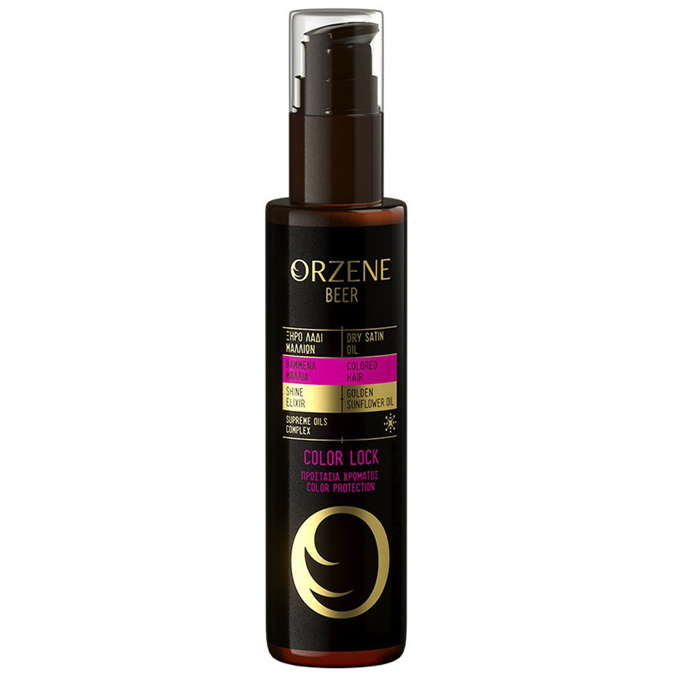 ORZENE OIL DRY SAT COLOR LOCK 100ML R17
