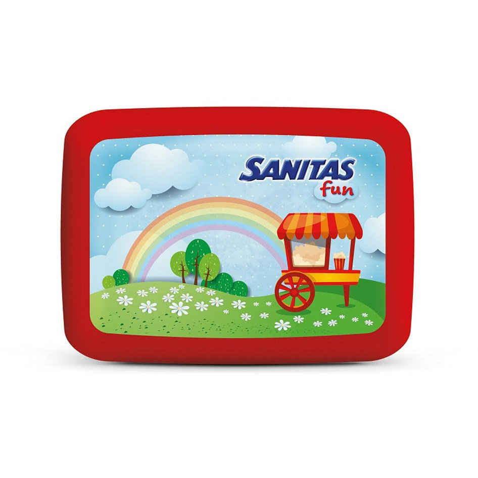 SANITAS FUN LUNCH BOX  889ml