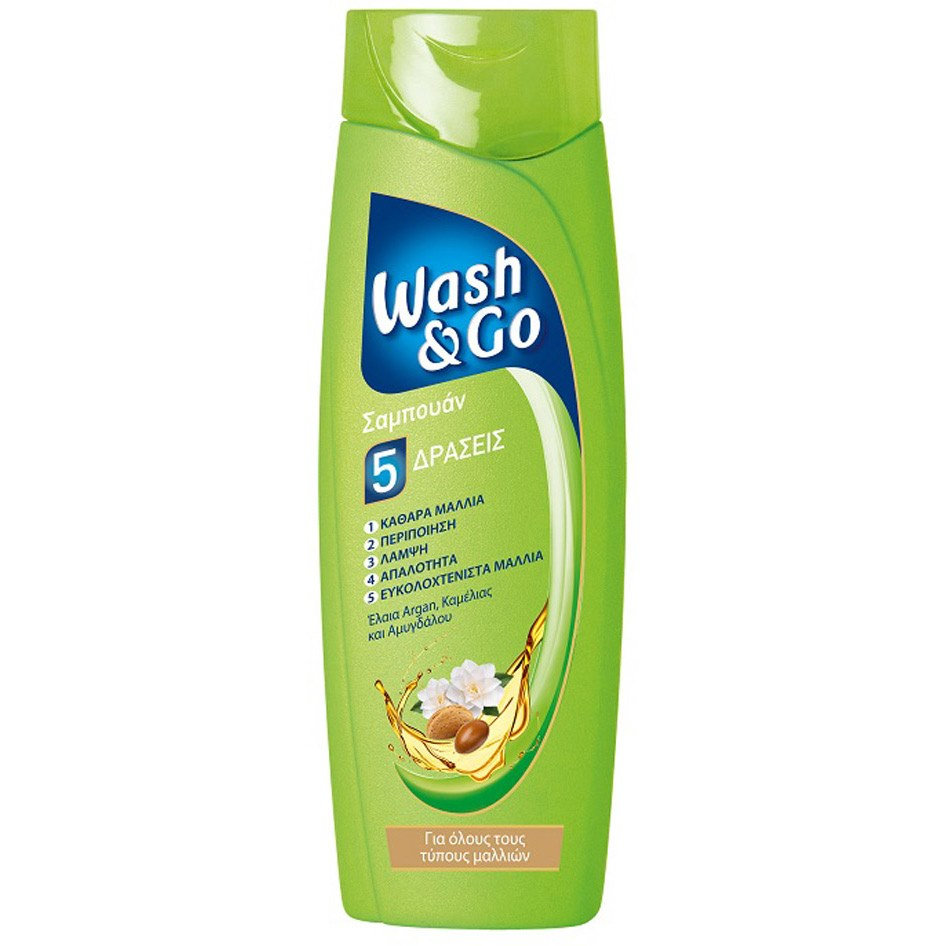 WASH&GO SHAMPOO ALL HAIR TYPES 400ML