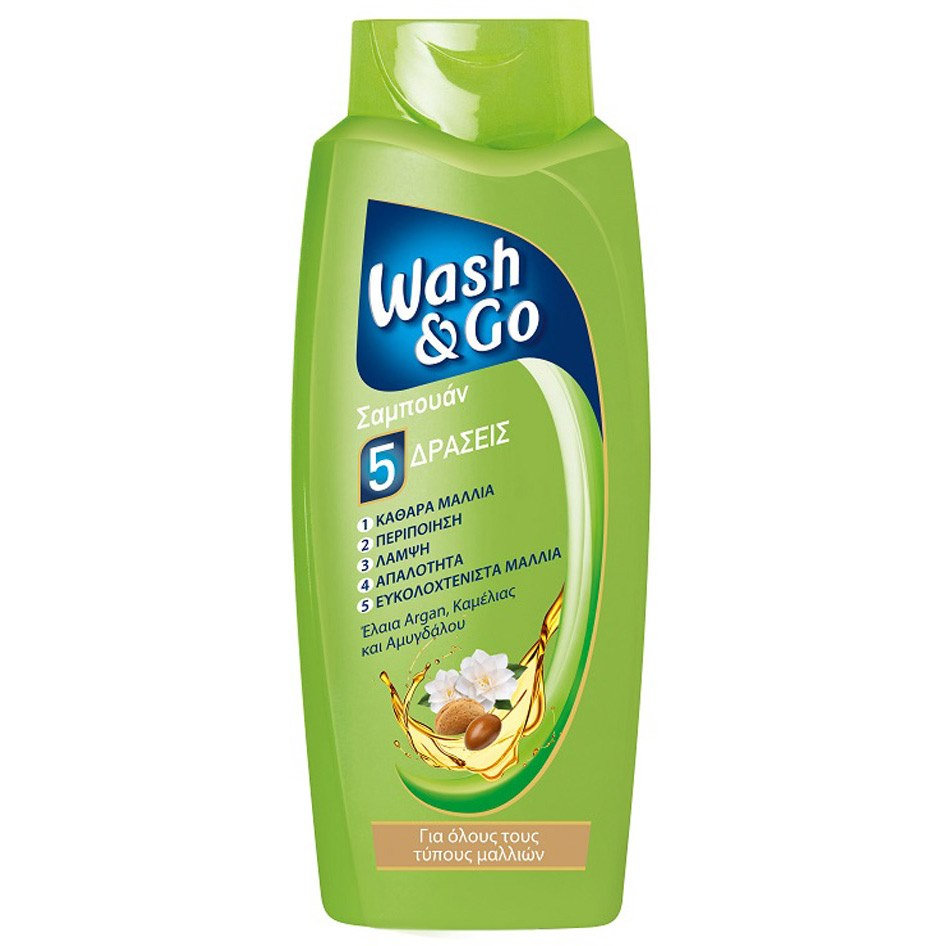 WASH&GO SHAMPOO ALL HAIR TYPES 700ML