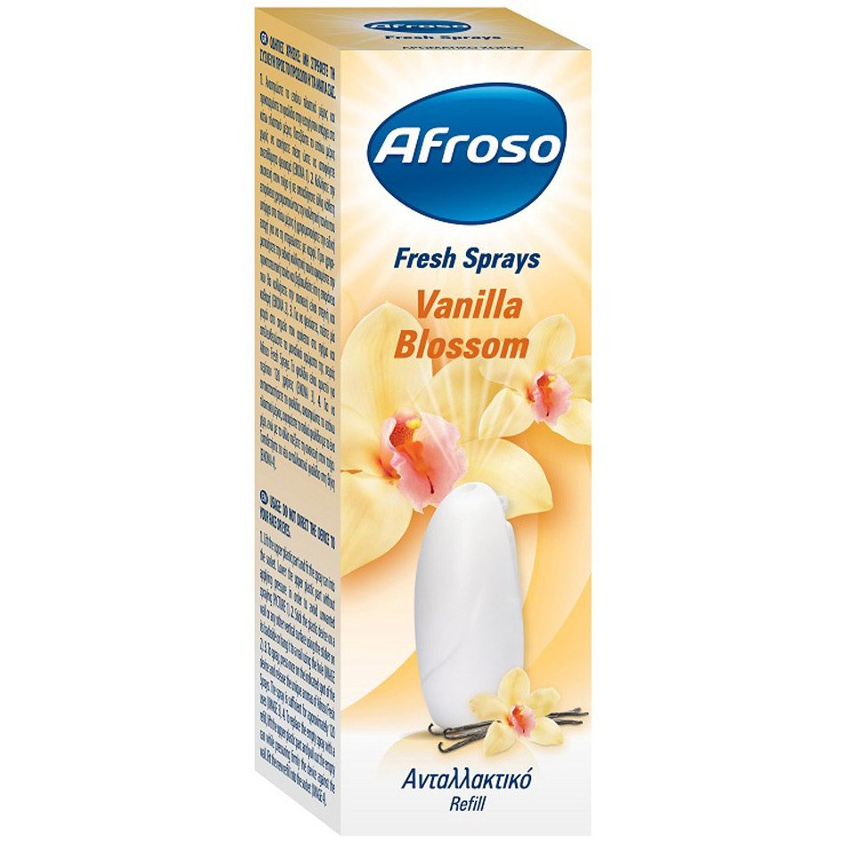 AFROSO FRESH SPRAY VANILLIA REF R17