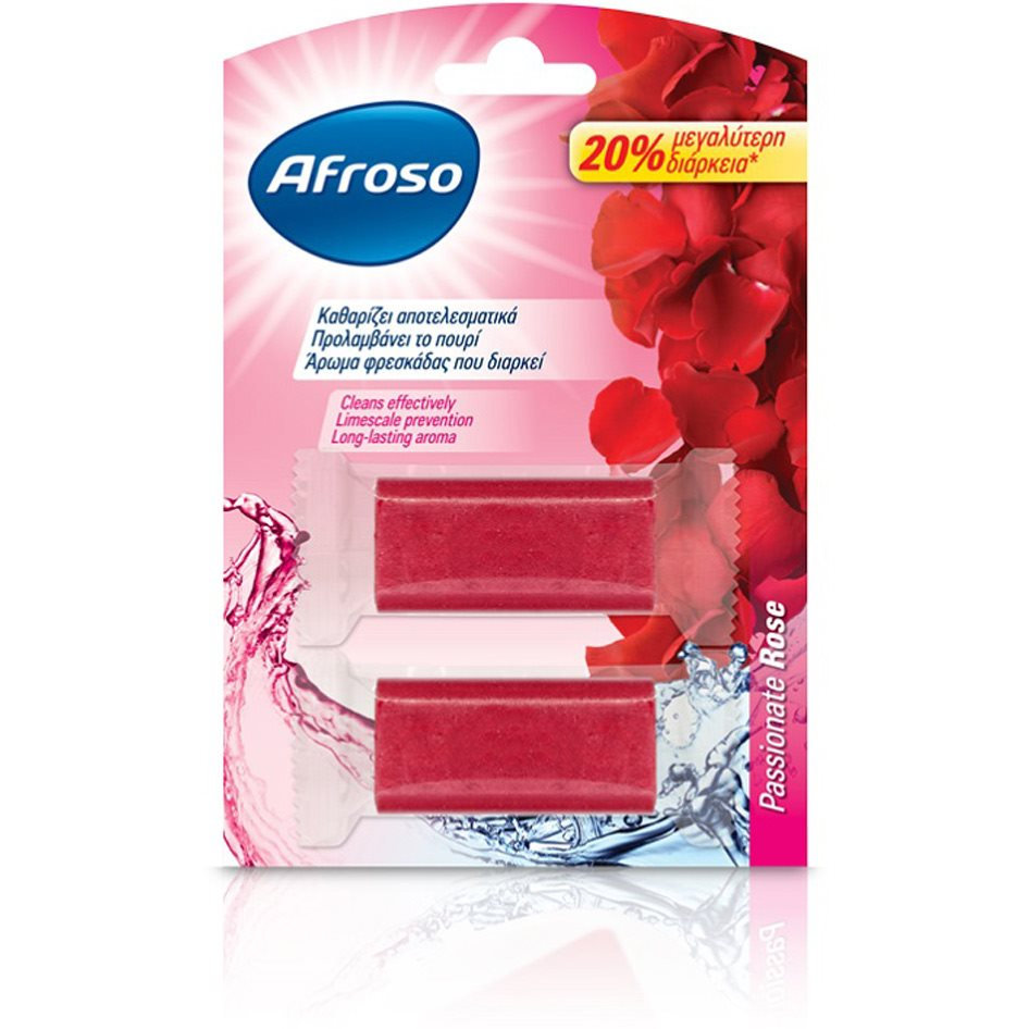 AFROSO BL. SOLID PASSION. ROSE 2x40G R17