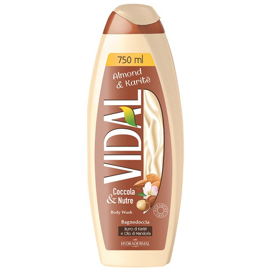 VIDAL BATH FOAM ALMOND & KARITE 750ML