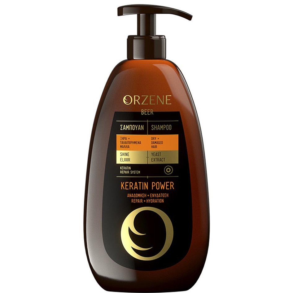 ORZENE SHAMPOO DRY/KERATIN POWER 750ML R17
