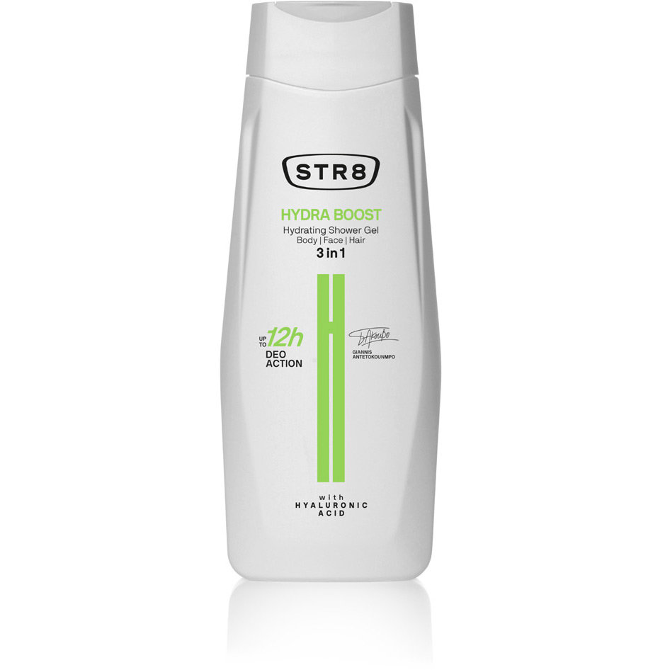 STR8 SHOWER GEL HYDRA BOOST 400ML R19
