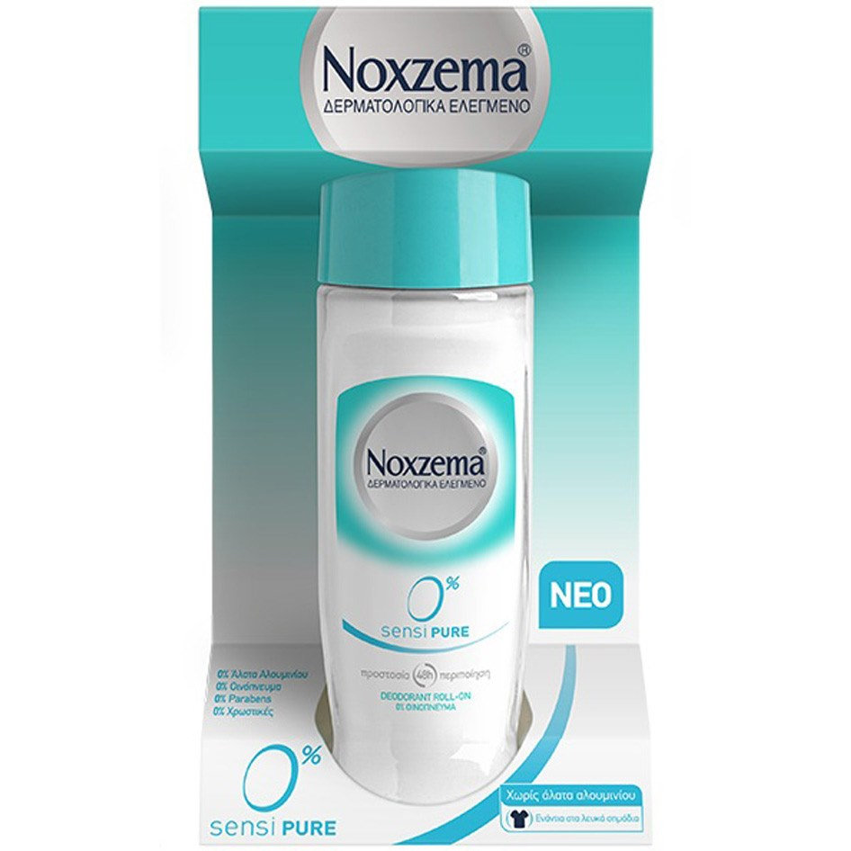 NOXZEMA ROLL ON SENSIPURE 0% 50ML R19