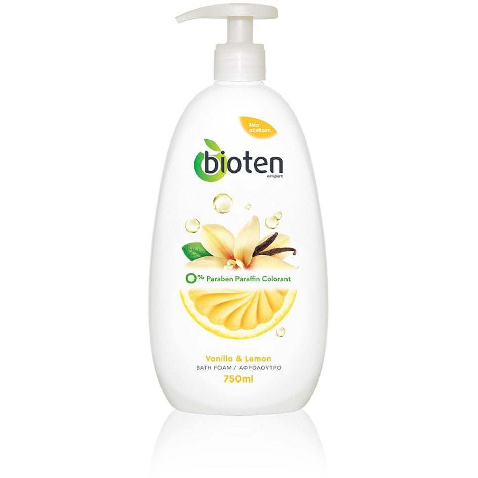 BIOTENSHOWER GEL CR LEMON VANILL 750MLR18
