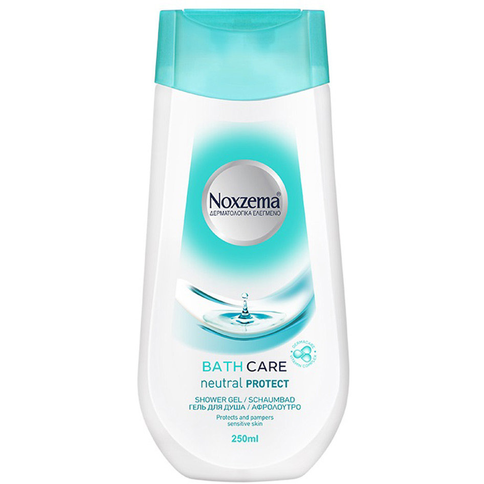 NOXZEMA SHOWER GEL NEUTRAL 250ML R18